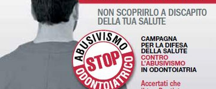 Dentista Milano stop dentista abusivo